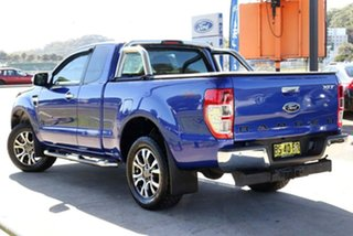 2012 Ford Ranger PX XLT Super Cab Blue 6 Speed Manual Utility.