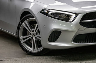 2018 Mercedes-Benz A-Class W177 A250 DCT 4MATIC Limited Edition Silver, Chrome 7 Speed.
