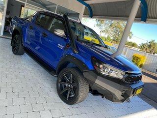 2017 Toyota Hilux SR5 Blue Sports Automatic Dual Cab Utility