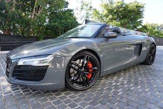 2013 Audi R8 Daytona Grey 7 Speed Sports Automatic Dual Clutch Convertible.