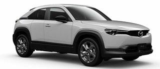 2021 Mazda MX-30 DR2W7A G20e SKYACTIV-Drive Evolve Arctic White 6 Speed Sports Automatic Wagon.