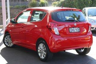 2015 Holden Spark MP MY16 LT Red 1 Speed Constant Variable Hatchback.