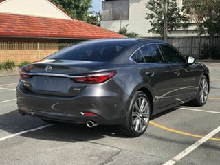 2018 Mazda 6 GL1032 GT SKYACTIV-Drive Grey 6 Speed Sports Automatic Sedan.