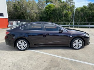 2008 Mazda 6 GH Classic Black 5 Speed Auto Activematic Hatchback.
