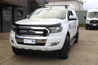 2017 Ford Ranger PX MkII MY17 XLT 3.2 (4x4) White 6 Speed Manual Dual Cab Utility