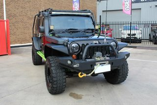 2012 Jeep Wrangler Unlimited JK MY12 Sport (4x4) Black 5 Speed Automatic Softtop.
