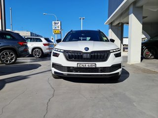 2020 Skoda Kamiq NW MY21 110TSI DSG FWD Monte Carlo Moon White 7 Speed Sports Automatic Dual Clutch