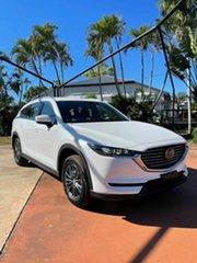 2021 Mazda CX-8 D Sport White 6 Speed Automatic Wagon.