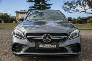 2019 Mercedes-Benz C-Class W205 809MY C43 AMG 9G-Tronic 4MATIC Selenite Grey 9 Speed.