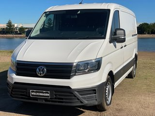 2017 Volkswagen Crafter SY1 MY18 35 MWB TDI340 Runner Candy White 6 Speed Manual Van.