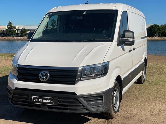Used Volkswagen Crafter SY1 MY18 35 MWB TDI340 Runner Hamilton, 2017 Volkswagen Crafter SY1 MY18 35 MWB TDI340 Runner Candy White 6 Speed Manual Van