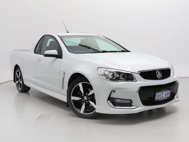 Used Holden Ute VF II SV6, 2017 Holden Ute VF II SV6 White 6 Speed Automatic Utility