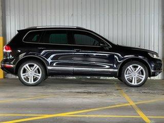2015 Volkswagen Touareg 7P MY15 V8 TDI Tiptronic 4MOTION R-Line Black 8 Speed Sports Automatic Wagon.