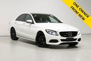 2017 Mercedes-Benz C250 205 MY17 White 9 Speed Automatic G-Tronic Sedan.