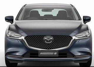 2021 Mazda 6 GL1033 Sport SKYACTIV-Drive Deep Crystal Blue 6 Speed Sports Automatic Sedan.