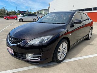 2008 Mazda 6 GH Classic Black 5 Speed Auto Activematic Hatchback