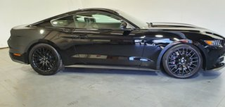 2016 Ford Mustang FM GT Fastback Black 6 Speed Manual Fastback