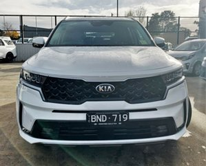 2021 Kia Sorento MQ4 MY21 Sport+ Clear White 8 Speed Sports Automatic Wagon.