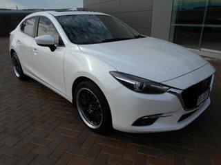 2016 Mazda 3 BM5238 SP25 SKYACTIV-Drive Astina White 6 Speed Sports Automatic Sedan.