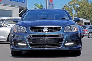2013 Holden Commodore VF MY14 SV6 Blue 6 Speed Sports Automatic Sedan.