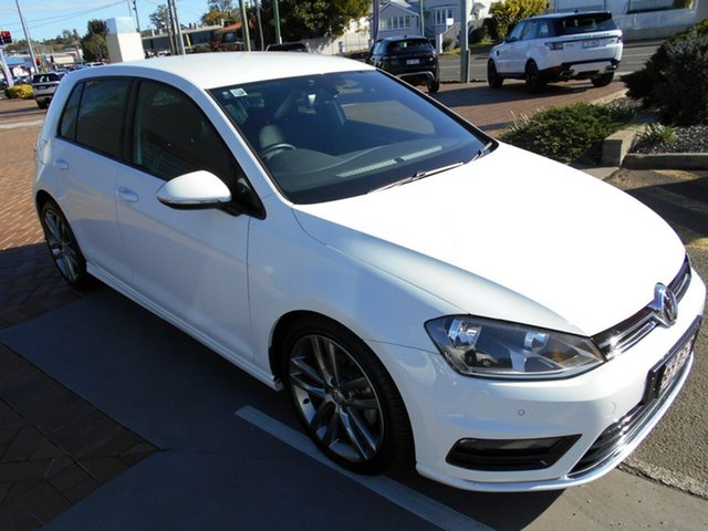 Used Volkswagen Golf VII MY15 103TSI DSG Highline Toowoomba, 2015 Volkswagen Golf VII MY15 103TSI DSG Highline White 7 Speed Sports Automatic Dual Clutch