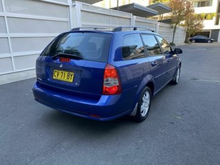 2006 Holden Viva JF Blue 4 Speed Automatic Wagon