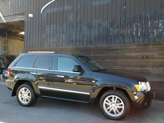 2010 Jeep Grand Cherokee WH MY2010 Overland Black 5 Speed Automatic Wagon.