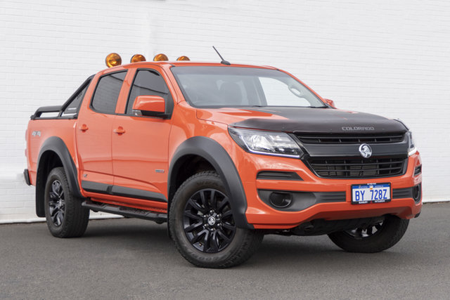 Used Holden Colorado RG MY19 LS Pickup Crew Cab Bunbury, 2018 Holden Colorado RG MY19 LS Pickup Crew Cab Crunch 6 Speed Sports Automatic Utility