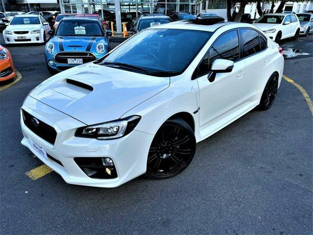 Used Subaru WRX V1 MY15 Premium Lineartronic AWD Seaford, 2015 Subaru WRX V1 MY15 Premium Lineartronic AWD White 8 Speed Constant Variable Sedan