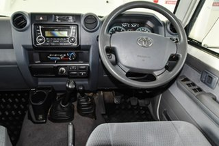 2018 Toyota Landcruiser VDJ79R GXL (4x4) French Vanilla 5 Speed Manual Double Cab Chassis