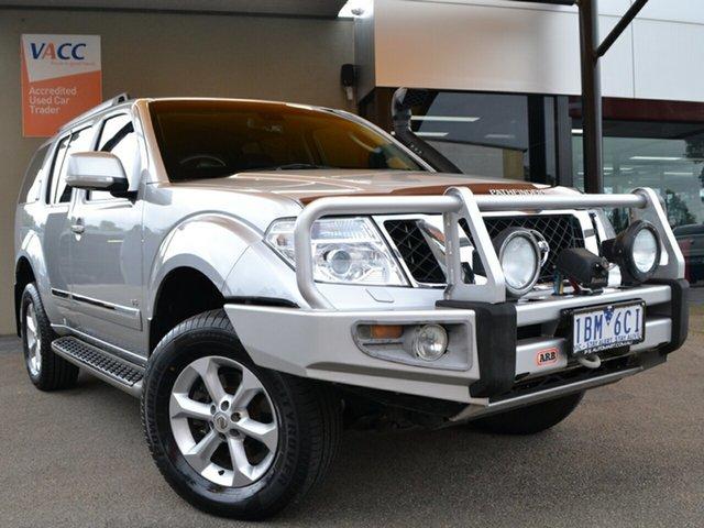 Used Nissan Pathfinder R51 MY10 Ti 550 Fawkner, 2012 Nissan Pathfinder R51 MY10 Ti 550 Silver 7 Speed Sports Automatic Wagon