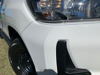 2020 Toyota Hilux GUN136R SR Double Cab 4x2 Hi-Rider Glacier White 6 Speed Sports Automatic Utility.