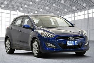 2012 Hyundai i30 GD Active Santorini Blue 6 Speed Sports Automatic Hatchback.