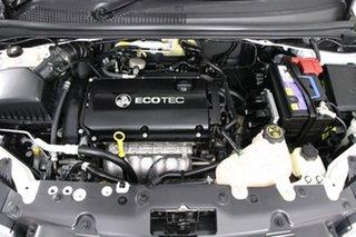 2016 Holden Barina TM MY16 CD White 6 Speed Automatic Hatchback