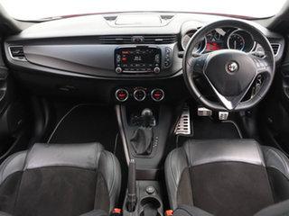 2015 Alfa Romeo Giulietta MY15 Quadrifoglio Verde Red 6 Speed Auto Dual Clutch Hatchback