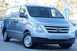2016 Hyundai iLOAD TQ Series II (TQ3) Silver 5 Speed Automatic Van.