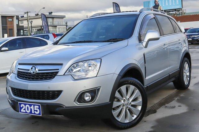 Used Holden Captiva CG MY15 5 LT Coburg North, 2015 Holden Captiva CG MY15 5 LT Silver 6 Speed Sports Automatic Wagon