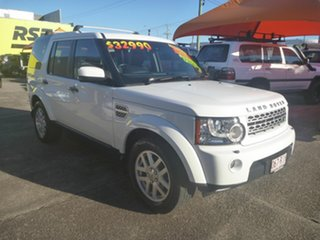 2010 Land Rover Discovery 4 Series 4 10MY TdV6 CommandShift White 6 Speed Automatic Wagon