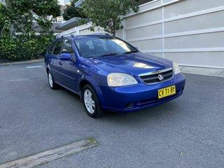 2006 Holden Viva JF Blue 4 Speed Automatic Wagon.