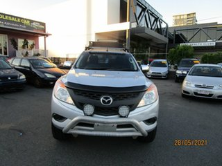 2014 Mazda BT-50 MY13 XT Hi-Rider (4x2) Silver 6 Speed Manual Freestyle Cab Chassis.