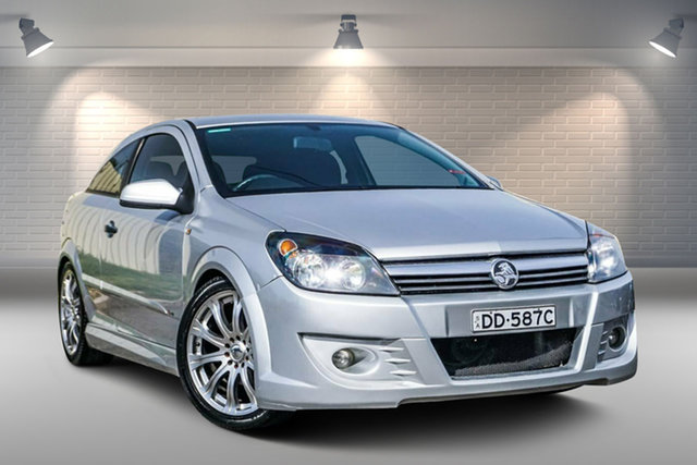 Used Holden Astra AH CD Gepps Cross, 2005 Holden Astra AH CD Silver 4 Speed Automatic Coupe
