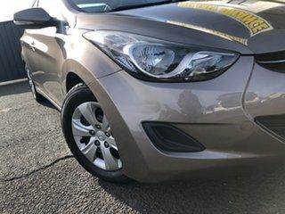 2013 Hyundai Elantra MD2 Active Grey 6 Speed Sports Automatic Sedan.