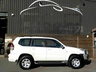 2006 Toyota Landcruiser Prado KZJ120R GX Limited White 4 Speed Automatic Wagon.