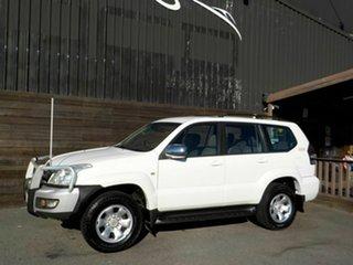 2006 Toyota Landcruiser Prado KZJ120R GX Limited White 4 Speed Automatic Wagon