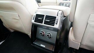2008 Land Rover Range Rover Vogue L322 09MY TDV8 Luxury Black 6 Speed Sports Automatic Wagon