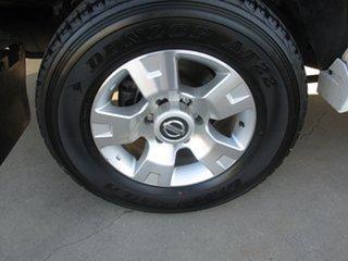 2009 Nissan Patrol GU 6 MY08 ST White 5 Speed Manual Wagon