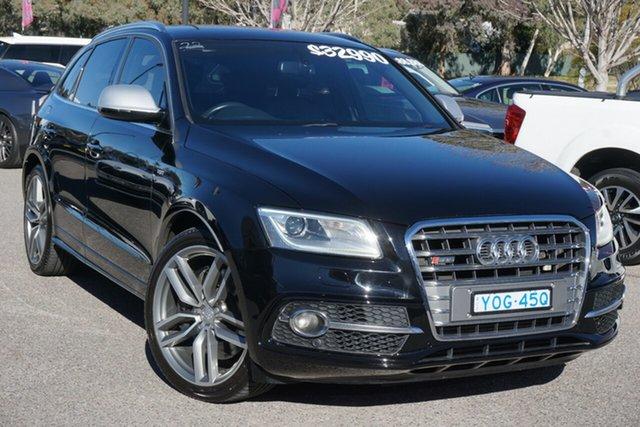 Used Audi SQ5 8R MY16 TDI Tiptronic Quattro Phillip, 2015 Audi SQ5 8R MY16 TDI Tiptronic Quattro Black 8 Speed Sports Automatic Wagon