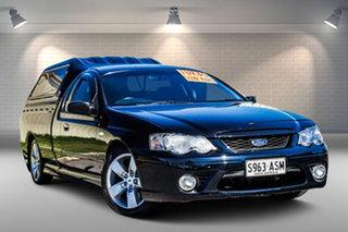 2008 Ford Falcon BF Mk II XR6 Turbo Ute Super Cab Black 6 Speed Sports Automatic Utility.
