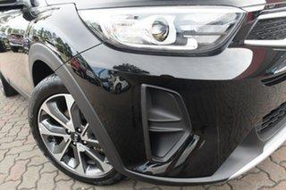 2021 Kia Stonic YB MY21 Sport FWD Aurora Black 6 Speed Manual Wagon.