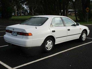1998 Toyota Camry CSX White Automatic Sedan.
